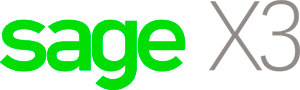 Sage ERP X3 new logo, now Sage X3